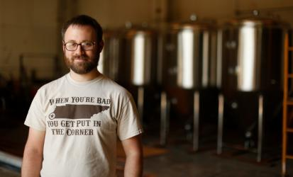 Memphis Made Brewing Company owner. Photo Credit: Justin Fox Burks