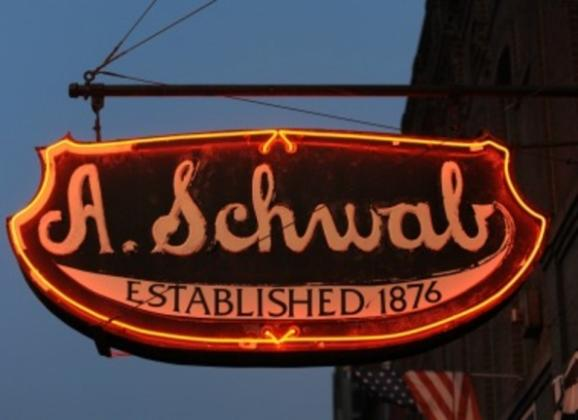 A. Schwab Store on Beale Street. Photo by Dan Ball.