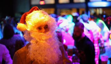 Santa at Tin Roof | Alex Shansky